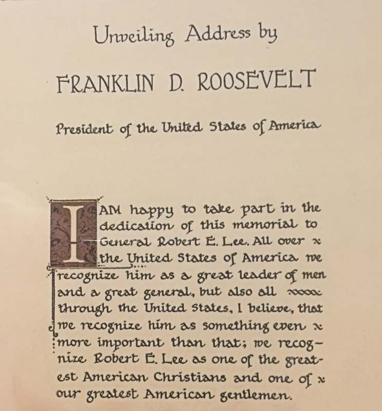 President's address