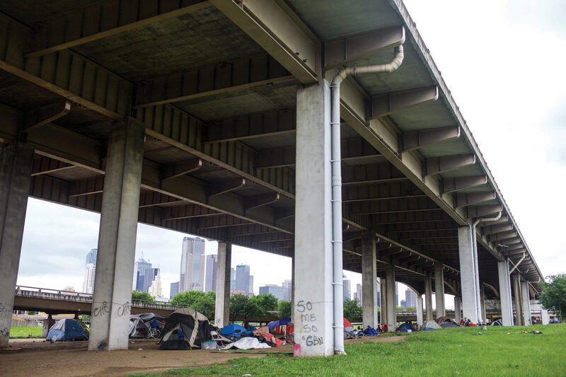 Tent City in Dallas